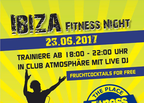 +++ Ibiza Fitness Night +++